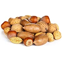 Anna and Sarah Premium Mixed Nuts in Shell, 2 Pound Bag, California Jumbo Chandler Walnuts, Extra Large Pecans…