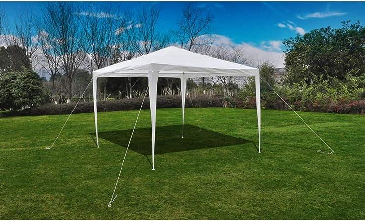 cangzhoushopping Pabellón Gazebo Jardín Pirámide-Techo 3 x 3 M Casa y jardín Jardín Artículos de Exterior Estructuras de Exteriores Pabellones y cenadores: Amazon.es: Hogar