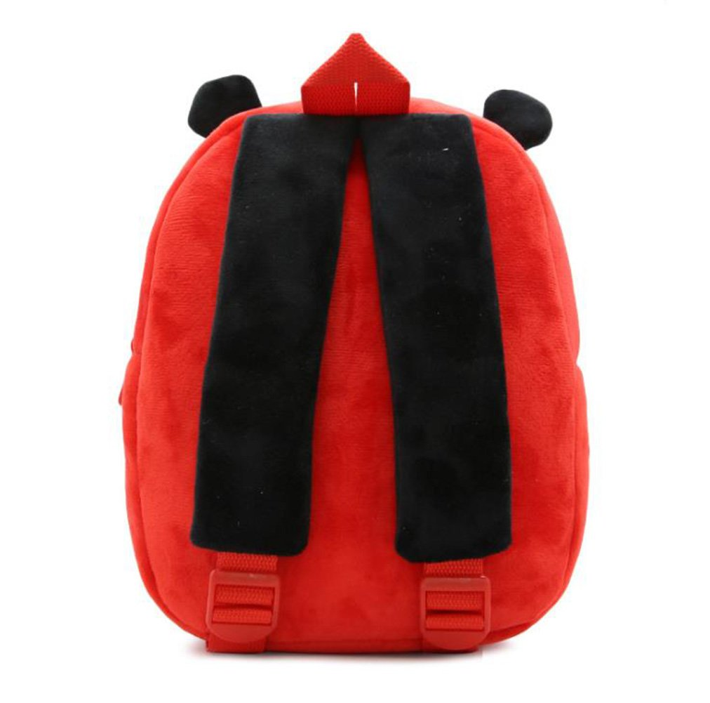 Cute Toddler Backpack Toddler Bag Plush Animal Cartoon Mini Travel Bag for Baby Girl Boy 1-6 Years (Beetle) by NICE CHOICE (Image #3)