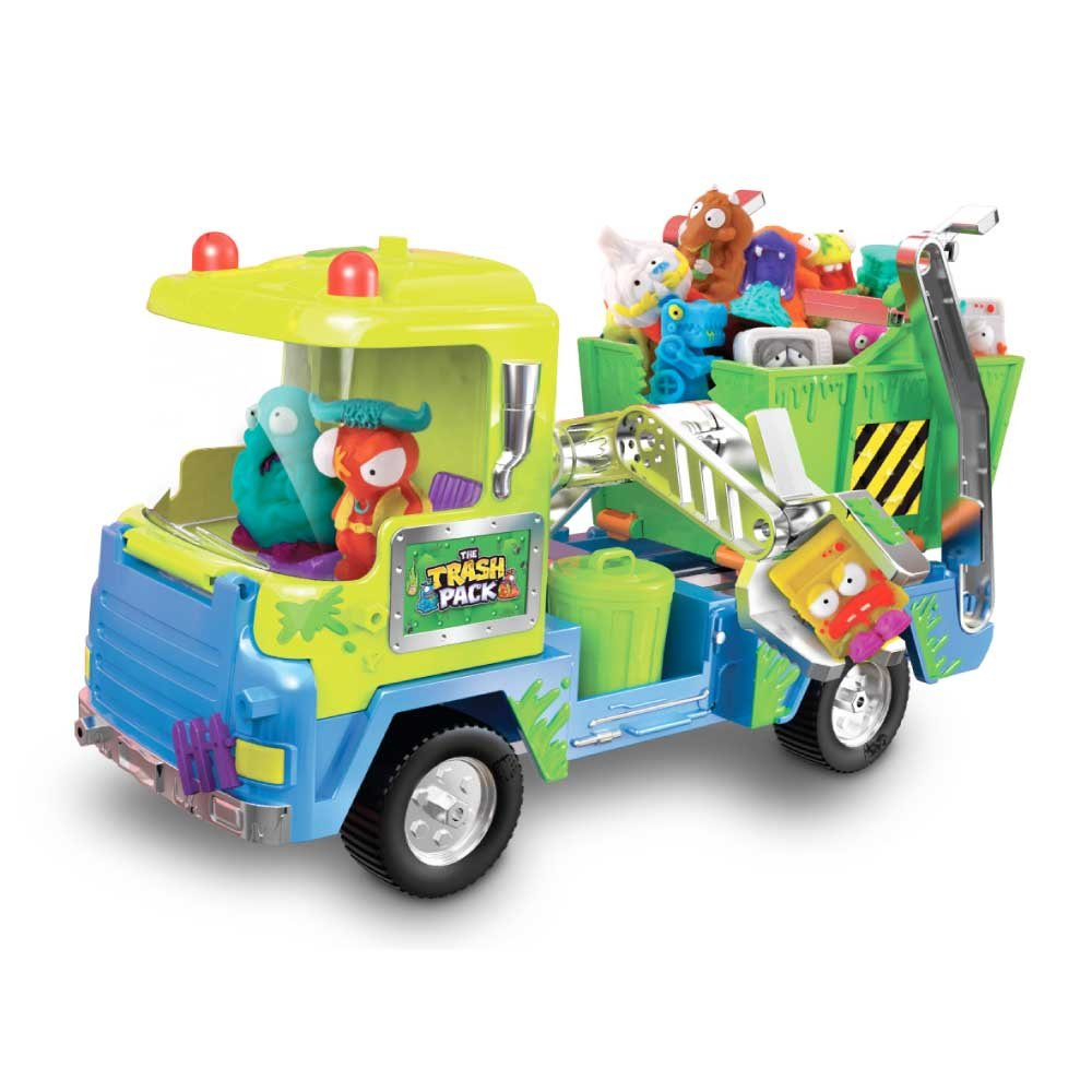 Trash Pack S4 Los Basurillas - Camión de chatarra con basurillas, 34 x 11 x 23 cm (Giochi Preziosi 68107): The Trash Pack Junk Truck: Amazon.es: Juguetes y ...