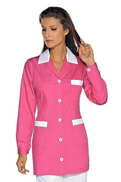 Isacco-túnica médica Marbella, color blanco: Amazon.es: Ropa y accesorios