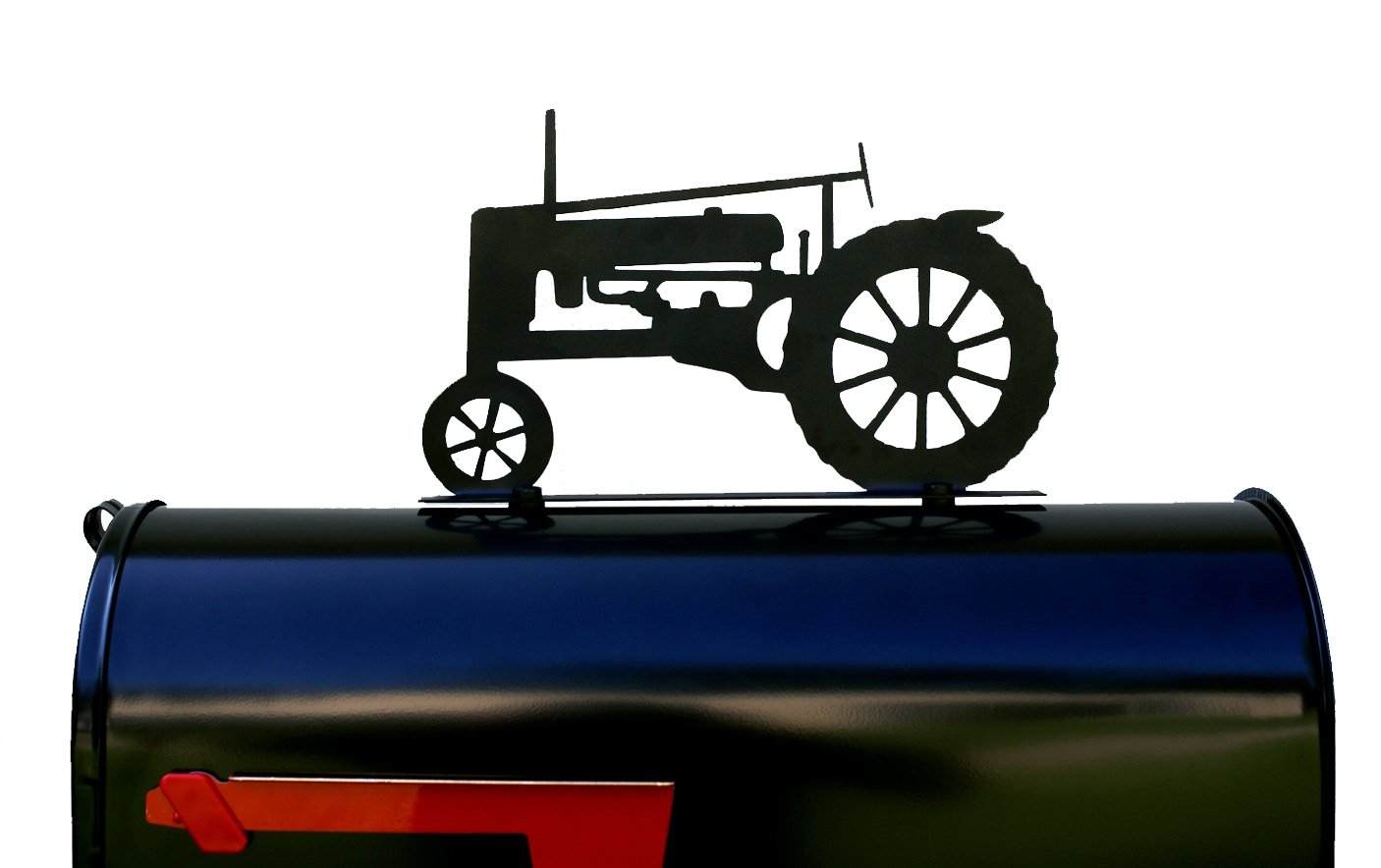 Tractor Silhouette Mailbox Topper/Sign
