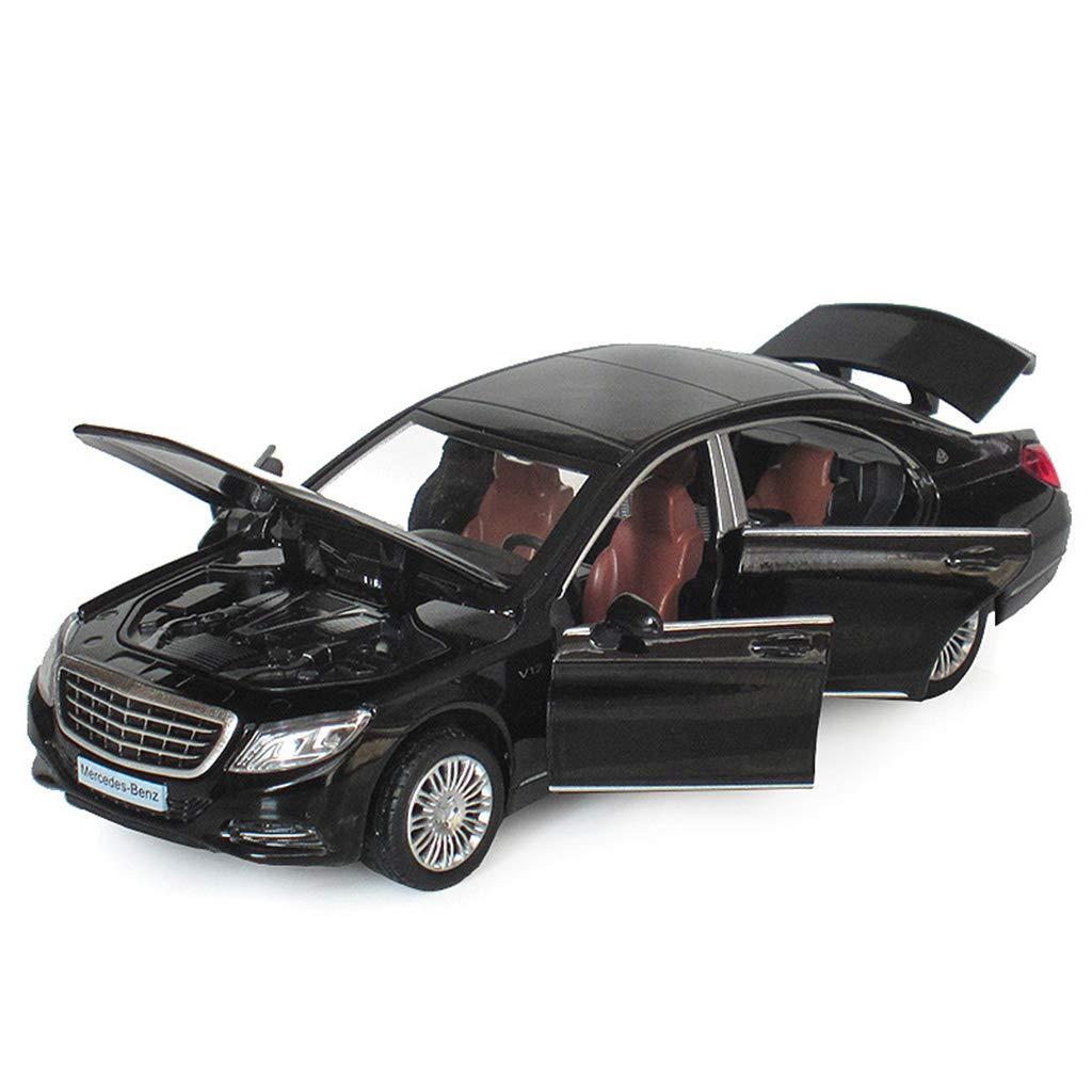 QRFDIAN Mercedes-Benz Maybach   Automodell S600   Simulation Automodell 6 Offene Tür Luxus Auto Legierung Spielzeugauto   Spielzeugauto für Kinder   Spielzeugkollektion   Spielzeugdekoration
