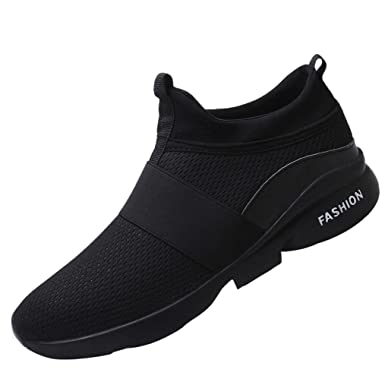 New! HARRYSTORE Men Mesh Running Sports Sneakers Ventilation