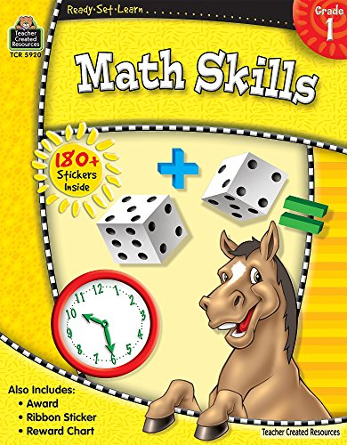 Ready-Set-Learn: Math Skills Grd 1