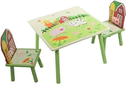 Baby-Wellness-Lifestyle - Juego de mesa y sillas infantiles ...