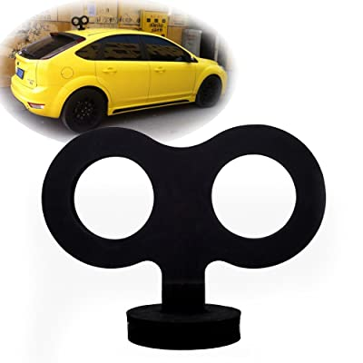 COGEEK Car Decoration Big Clockwork Toys Car Styling for Smart Mini Beetle (Black): Automotive