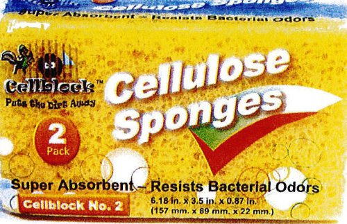 2pk Giant Cellulose Sponge Case Pack 72 , Automotive, tool & industrial , Office maintenance, janitorial & lunchroom , Cleaning supplies , Scrubbers & sponges