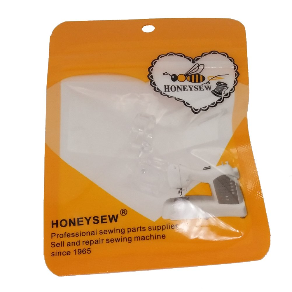 HONEYSEW Clear Ruler Foot Frame Quilting Embroidery Low Shank for Singer Pfaff Viking Brother