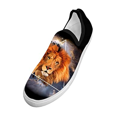 265b7f76adc37 Amazon.com: WCWC Men's Lion By Gottobestrange Cool Fly Knit Sneaker ...