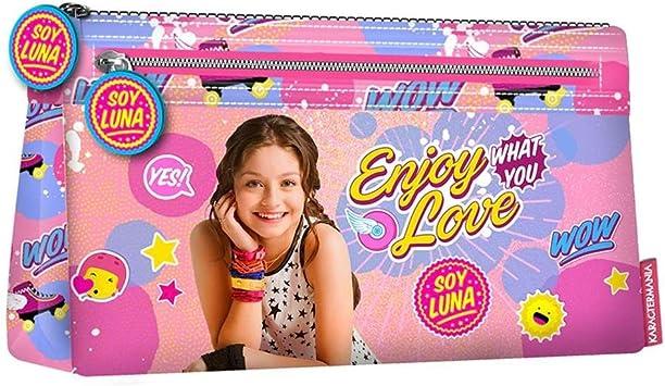 Soy Luna Estuche portatodo Plano, Color Rosa, 22 cm (Karactermanía 30286): Amazon.es: Juguetes y juegos