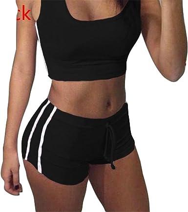 Juleya Juegos Yoga Mujer Bra + Shorts Traje de Deporte Mujer ...