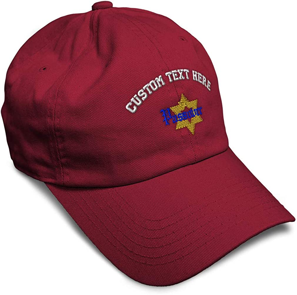 Custom Soft Baseball Cap Passover Embroidery Dad Hats for Men /& Women