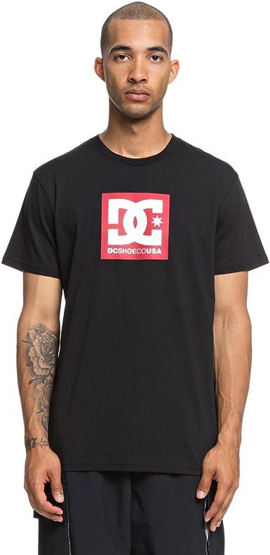 DC Shoes Square Star - Camiseta - Hombre - XS: Amazon.es: Ropa y accesorios