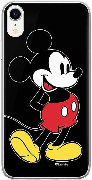 ERT GROUP Cover originale e ufficiale con licenza Disney Minnie e Topolino per iPhone XR, custodia in plastica TPU silicone che protegge da urti e ...