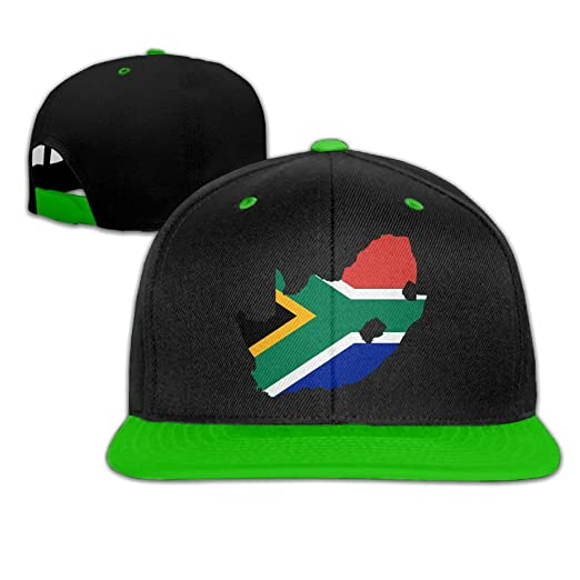 South Africa Flag Map Men s Adjustable Snapback Hip Hop Outdoor Sport  Trucker Cap Hats Flat Brim 6e6620a54d9