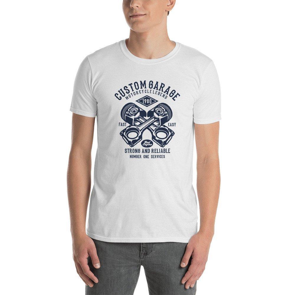 Custom-Garage Short-Sleeve Unisex T-Shirt
