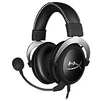 HyperX Cloud Silver - Casque Pro Gaming avec control audio intégré (PS4, Xbox One et PC)