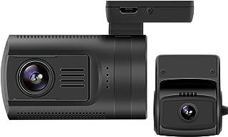 Zerogogo Mini 0906 Lot de 2caméras pour tableau de bord 1080p Full HD Avec GPS, capteur de vision de nuit Sony Exmor IMX291 IMX323, objectif grand angle 7lentilles, accéléromètre