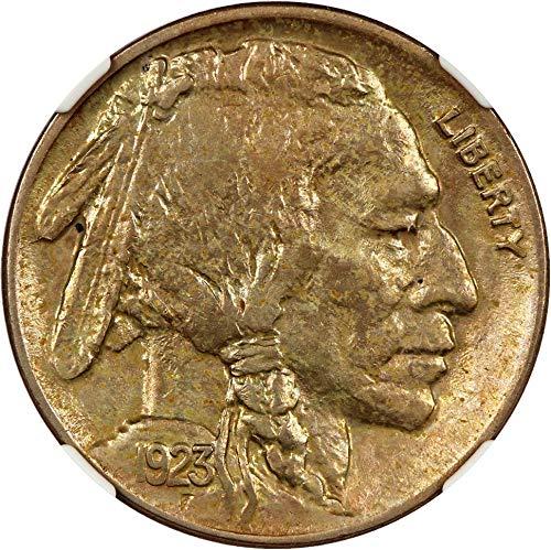 1923 P Buffalo Nickels Nickel 88 NGC