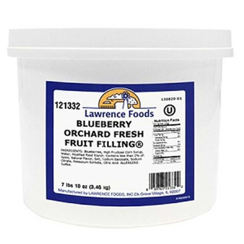 Whole Blueberry Filling, 0.75 Gallon -- 4 per Case by Lawrence Foods (Image #2)