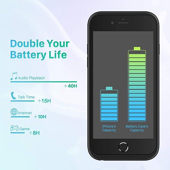 IBESTWIN 10000mAh Bater/ía Extendida para Samsung Galaxy Note 3 con NFC