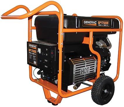 Amazoncom Generac 5735 Gp17500e 17500 Running Watts26250