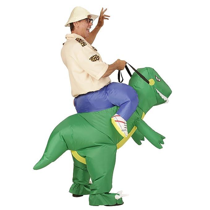 WIDMANN Disfraz de explorador en dinosaurio hinchable ...