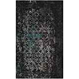 Safavieh Classic Vintage Collection CLV223C Navy and Teal Area Rug (3′ x 5′) Review