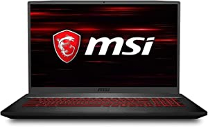 "MSI GF75 17.3"" Gaming Laptop Intel Core i7-9750H 8GB RAM 512GB SSD 120Hz GTX 1660 Ti Aluminum Black"