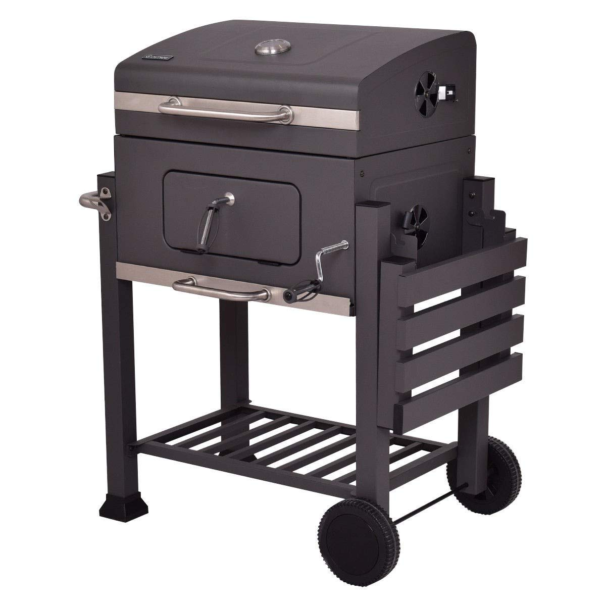 CHOOSEandBUY Charcoal Grill Outdoor Patio Barbecue BBQ Grill New Perfect Beautiful Classic Elegant Useful