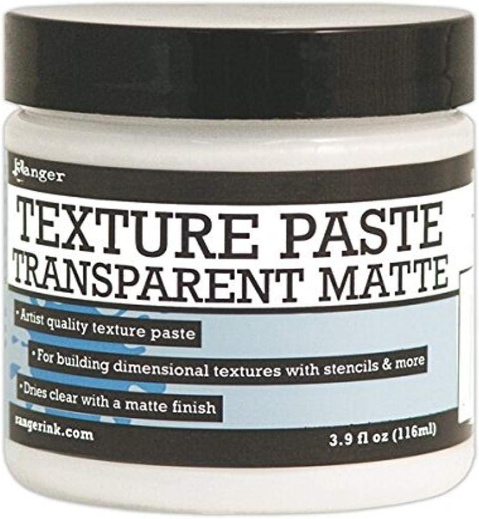 Ranger Texture Paste Transparent Matte, 4 oz