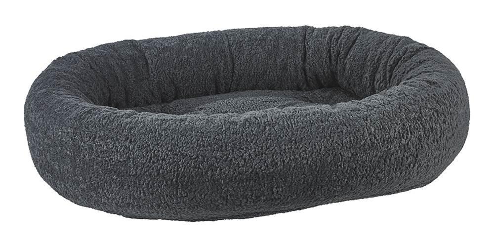 Bowsers Donut Bed, Medium, Grey Sheepskin