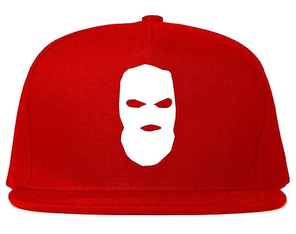 b6597202619 Amazon.com  Kings Of NY Ski Mask Chest Logo New York Hood Snapback Hat  Black  Clothing