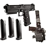Tippmann TPX Paintball Pistol Starter Kit - Black