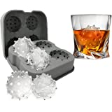 CO_VID Ice Cube Mold Tray Gifts for Men Dad Boyfriend Colleague, Unique Gift, Stocking Stuffer, White Elephant, Dirty Santa Y