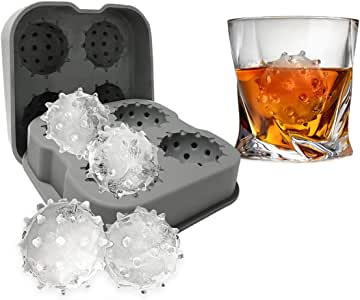 Coronavirus Ice Cube Mold Tray