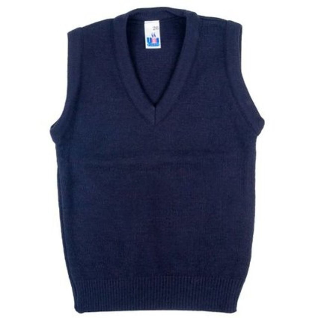 Vintage Style Children's Clothing: Girls, Boys, Baby, Toddler School Uniform V Neck Tank Top Sleeveless Jumper £12.19 AT vintagedancer.com