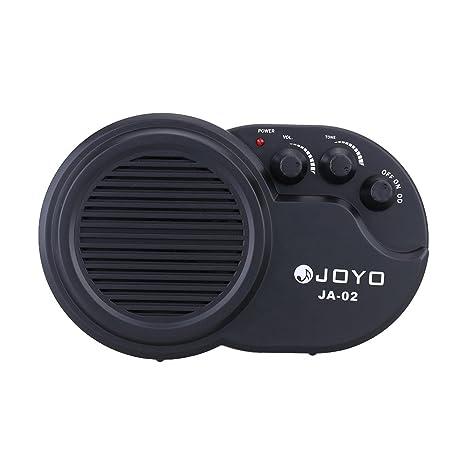 JOYO JA-02 3W Mini Guitarra Eléctrica Altavoz del Amplificador Amp con el Tono del
