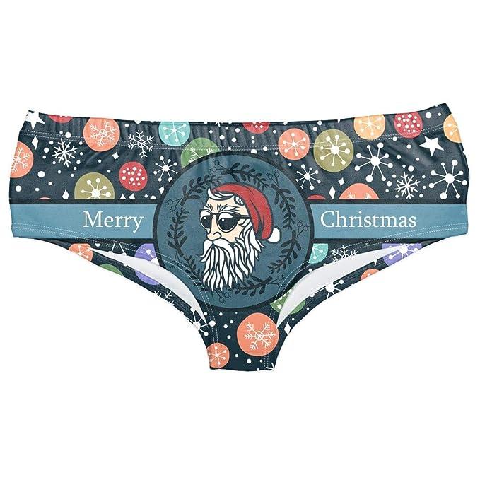Amazon.com: POTO - Ropa interior de Navidad para mujer ...