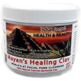 Mayan Secret - Indian Healing Clay - Deep Pore Cleansing Facial & Healing Body Mask | The Original 100% Natural Calcium Bentonite Clay 1 pound