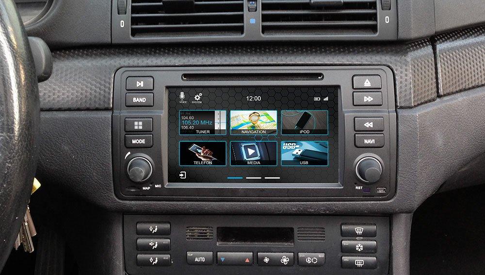 Amazon com: Dynavin N7-E46 Radio Navigation System, for BMW