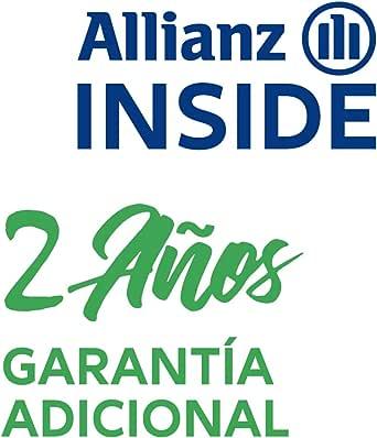 Allianz Inside, 2 años de Garantía Adicional para Equipos electrónicos de Limpieza con un Valor de 550,00 € a 599,99 €
