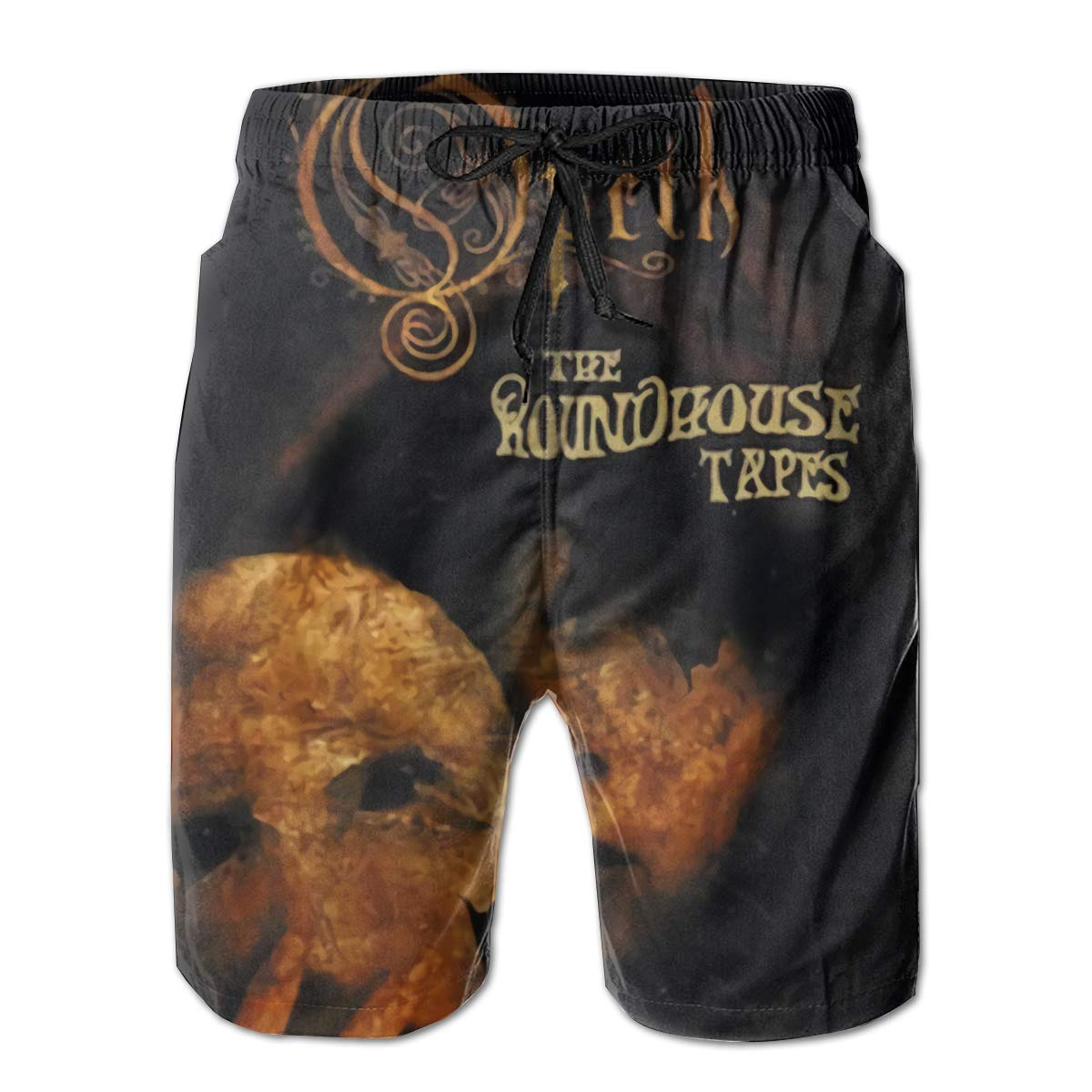 Robert R Castleberry Opeth The Roundhouse Tapes Men Summer Beach Shorts Surfing Pants
