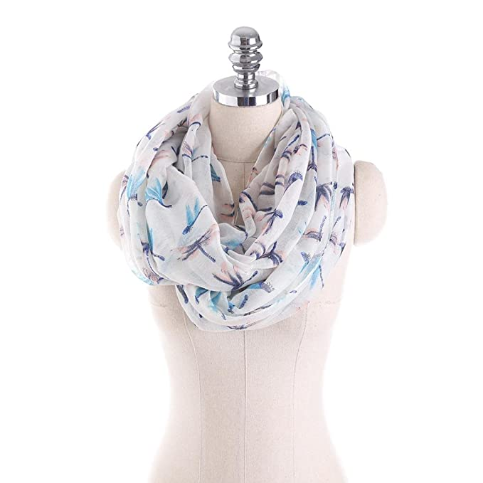 iHPH7 Scarf Women Ladies Skull and Crossbones Pattern Print Voile Wrap Shawl at Amazon Womens Clothing store:
