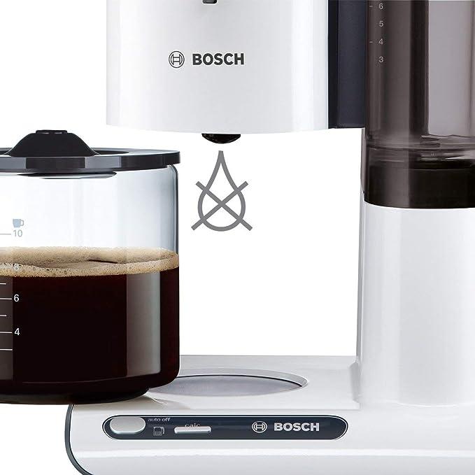 Bosch TKA8011 Cafetera de goteo, 1.160 W, capacidad para 10-15 ...