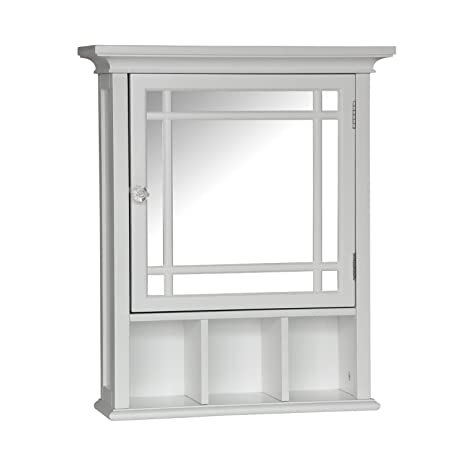 Amazon.com: Elegant Home Fashions Neal Collection Mirrored ...