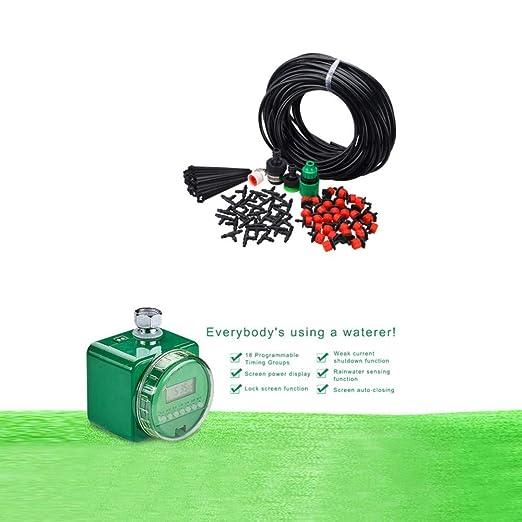 VASTFIRE - Temporizador de riego automático, Kit de Sistema de ...