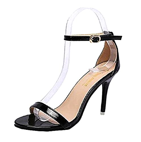 Scarpe - Sandali da Donna - Lucidi - Tacco a Spillo - LYX-122 LYX-123   Amazon.it  Scarpe e borse 9ac142af83f