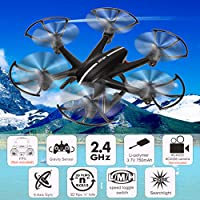 Tinfancy RC Aircraft Quadcopter Drone 3D Roll FPV 2.4GHz 4CH 6-Axis Gyro